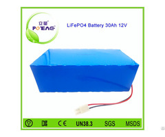 Long Cycle Life 26650 Lifepo4 12v 30ah Battery Pack