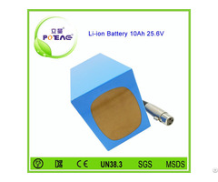 Lithium Rechargeable 26650 25 6v 10ah Lifepo4 Battery Pack