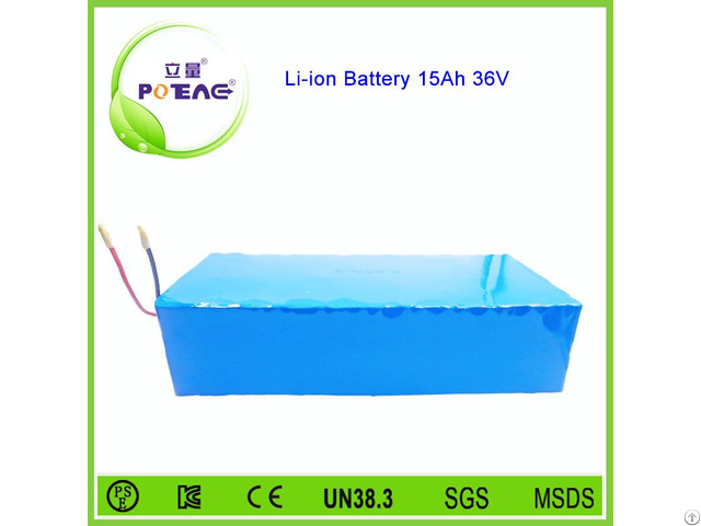 15ah 36v Solar Lithium Ion Battery With Msds Un38 3 Certification