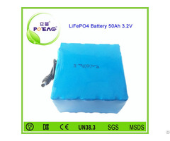 Lifepo4 Type 3 2v 50ah 26650 Rechargeable Li Ion Battery