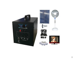 60w Solar Systems With Tv Fan