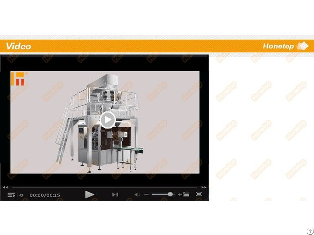 High Quality Rotary Solid Packing Machine