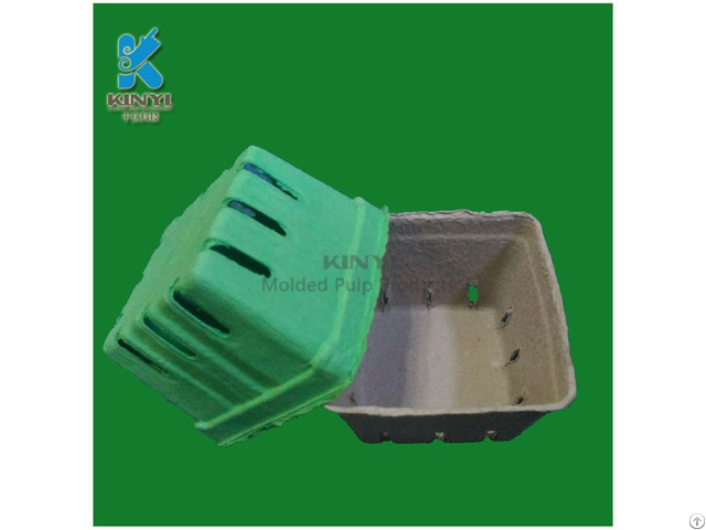 Fresh Fruit Packaging Box Environmental Paper Pulp Molded Tray
