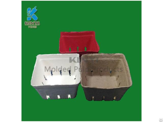 Biodegradable Mold Pulp Frozen Fruit Basket