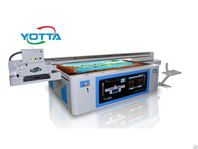 Yd2512 Rd Uv Flatbed Inkjet Printer Mental Sheet And Wallpaper Printing Machine