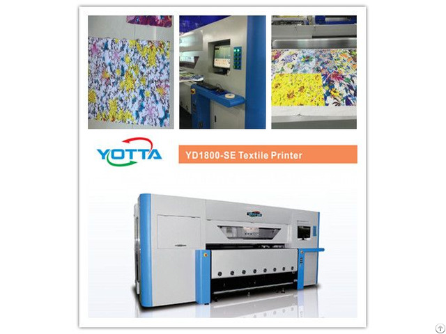 Yd1800 Se Textile Printing Machine For Clothing T Shirt