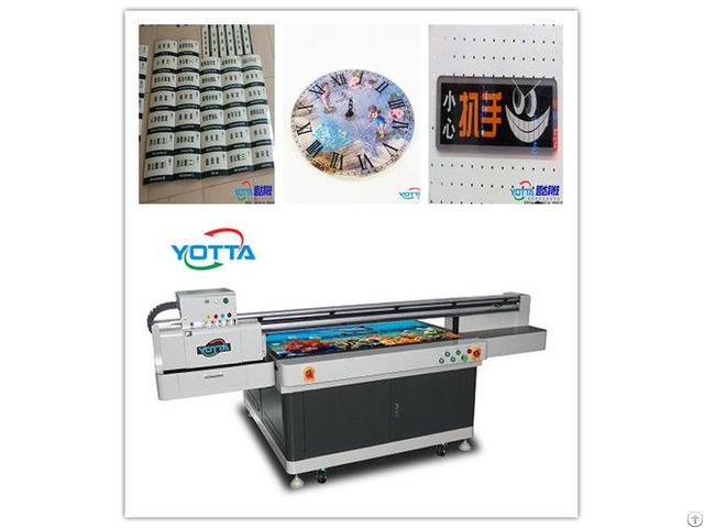 Yd1510 Ra Uv Flatbed Printer Led Digital Inkjet Mental Sheet Printing