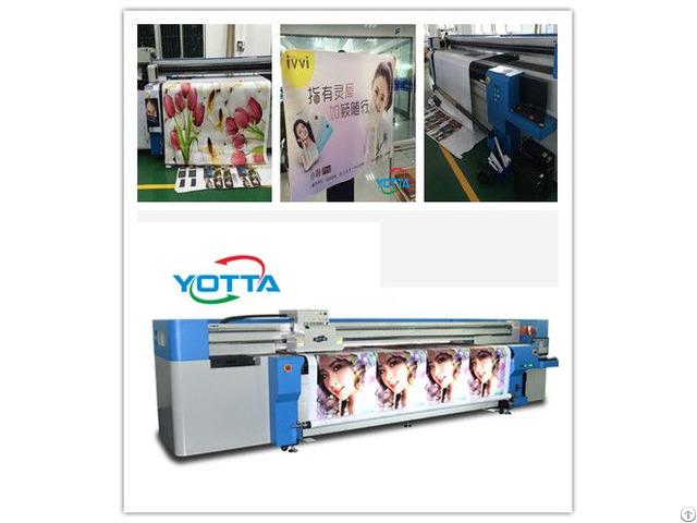 Yd3200 Rc Hybrid Uv Printer Pvc Pet Film Advertising Paper