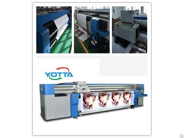 Yd3200 Rc Hybrid Uv Printer For Backlit Pet Pvc Film Large Format Poster Printing