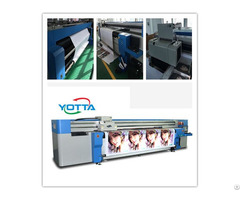 Yd3200 Rc Hybrid Uv Printer For Backlit Pet Pvc Film Large Format Poster Printing