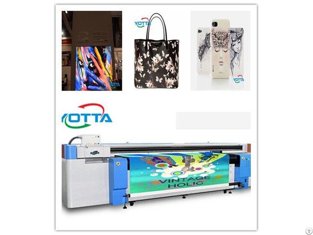 Yd2600 Rc Hybrid Uv Printer Large Format Advertising Printing Machine