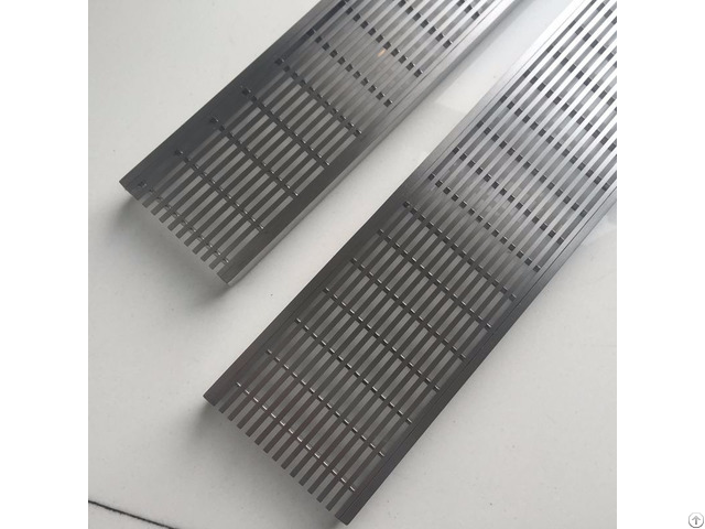 Stainless Steel Slim Line V Profile Grating