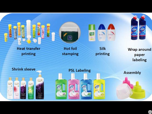 Pet Plastic Bottle Packaging For Cosmetics Water Liquid