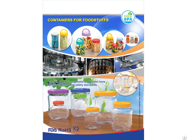 Pet Plastic Bottle Packaging For Cosmetics Pharmaceuticals Water