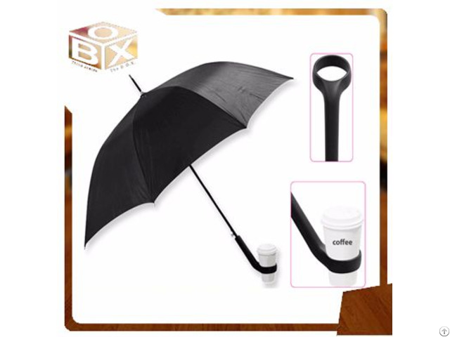 Coffee Cup Holder Outdoors Straight Umbrella