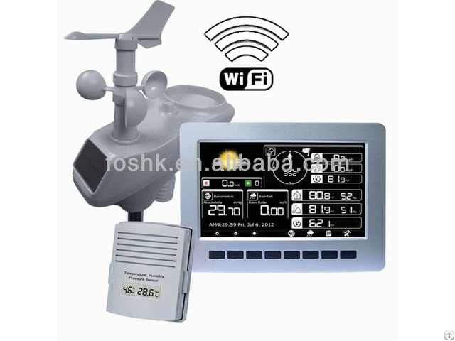 Weather Station Color Display With Wifi Connection