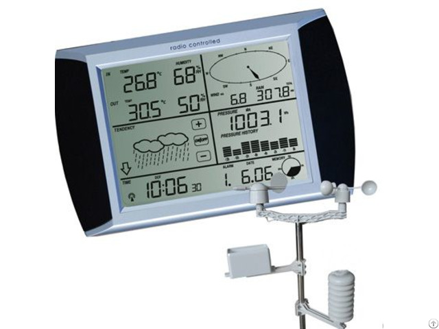 Touch Display 433mhz Wireless Weather Station Support Mac Os