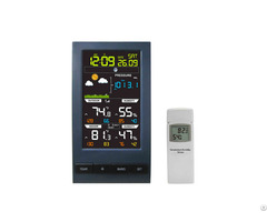 New Weather Station Color Display Thermometer Hygrometer