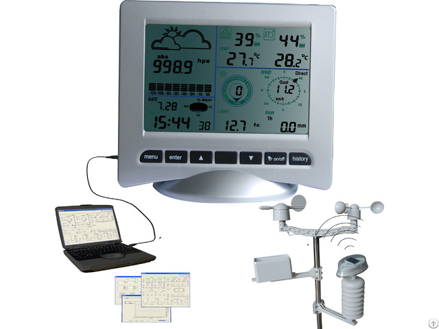 Rf Wireless Weather Station Support Mac Os With Solar Radiation Rate