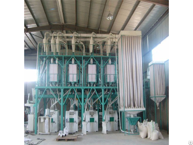 High Quality 50t 24h Maize Mill Machine