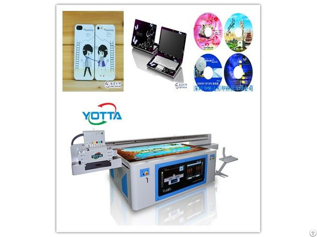 Digital Uv Flatbed Acrylic Sheet Printer With Large Print Format