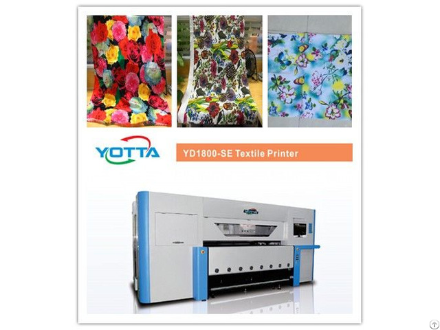 Large Format Textile Floral Printing