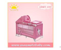 Astm En As Nzs Standard Baby Pop Up Playpen Cot Bed Crib