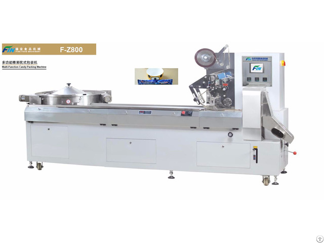 Multi Function Flow Type Candy Packing Machine