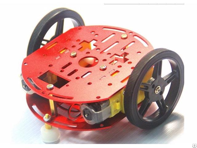 Small 2wd Light Weight Robot Platform