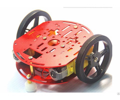 Small 2wd Light Weight Robot Platform