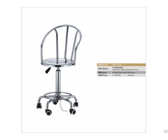 Metal Backrest Stool Anti Static