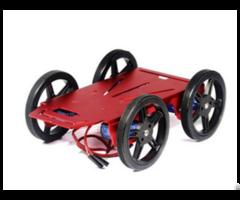 Feetech 4wd Aluminium Metal Robot Platform With Pc Motors