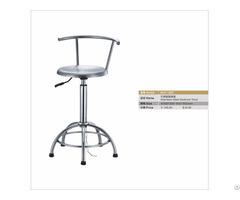 Stainless Steel Backrest Stool