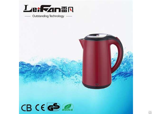 Electric Kettle With Leifan Thermostat