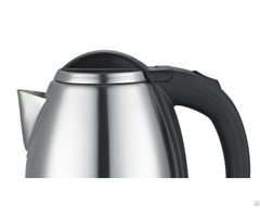 Electric Cordless Kettle With Plastic Handle And Lid