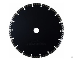 Segmented Turbo Diamond Blade