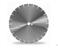 Silver Brazed Segmented Blade For Granite With Laser Cutting Low Noise Core