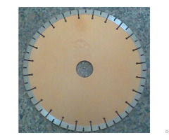 Silver Brazed Split Teeth Blade For Granite