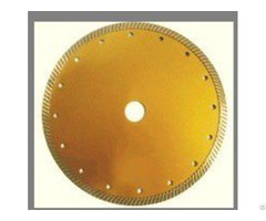 Hot Pressed Narrow Teeth Turbo Diamond Blade Big Size