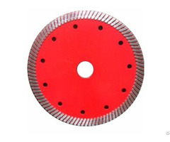 Hot Pressed Narrow Teeth Turbo Diamond Blade