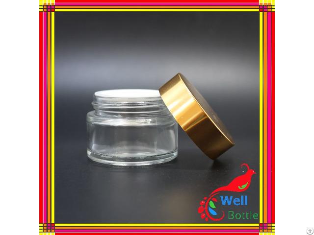 5g 10g 15g 20g 30g 50g 100g Cream Glass Jar
