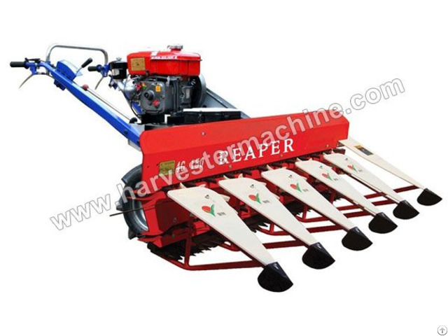 Mini Reaper For Wheat Rice Soybean Reed Harvesting