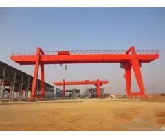 Double Girder Gantry Crane Design Machine 10 500 Ton