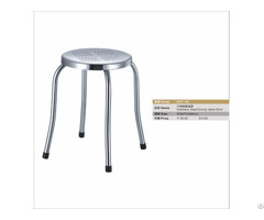 Stainless Steel Dining Stool Canteen Chair Student