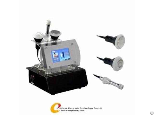 At 1219 Black Portable Tripolar Rf Slim Beauty Machine Body Slimming Machines