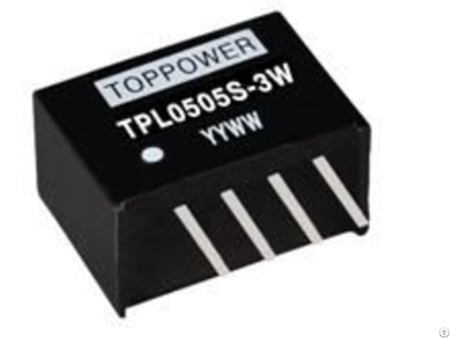 3w Isolated Single Output Dcdc Converters Tpl
