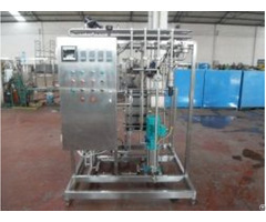 Uht Flush Pasteurizer For Beer