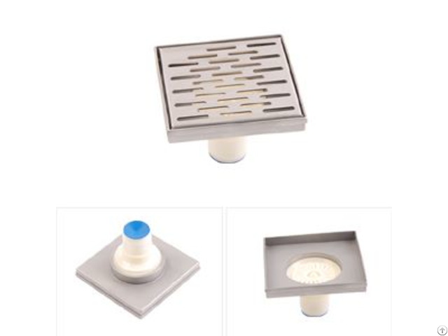 Stainless Steel Square Floor Drains