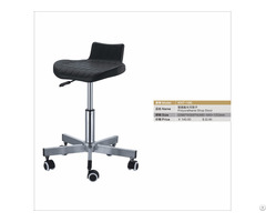 Pu Office Chair Stainless Steel Height Adjustable Stool