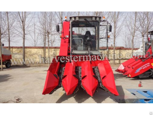 4yz 3a Self Propelled Corn Combine Harvester